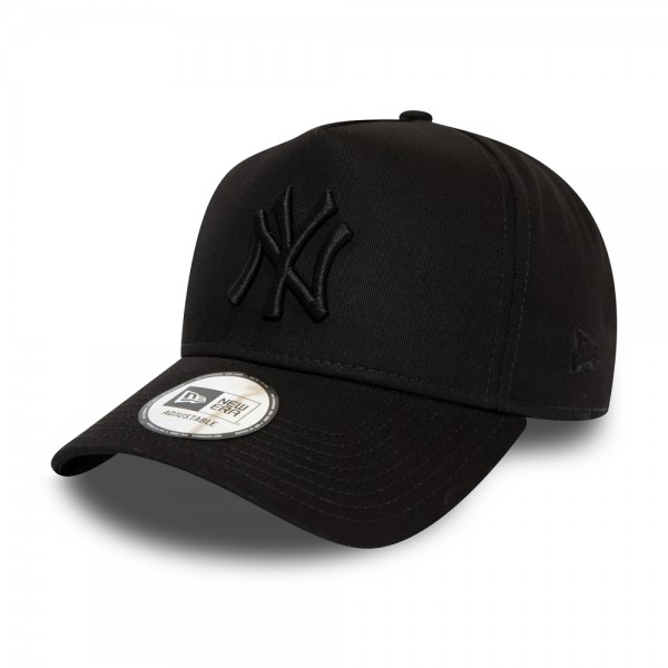New York Yankees Essential All Black 9FORTY A Frame Cap