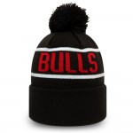 Chicago Bulls Black Bobble Knit